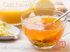 As the weather turns colder I am more prone to getting sick with a bad cold or flu. So I often make this Honey Citron Turmeric Tea to help me feel better. It tastes so much better than the drugstore cough syrup and it really works! Cold Remedy Tea with Turmeric Ginger Honey Citrus Honey Ginger Turmeric Citrus Wellness Tea Recipe (30 servings): Ingredients: 2 Lemons 1 Orange 2 inches Ginger Root 1 Tbsp Turmeric 1 cup Organic Raw Honey Method In a large bowl place: Finely sliced lemons…