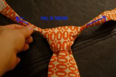 Very Homemade: Little Man Tie Tutorial