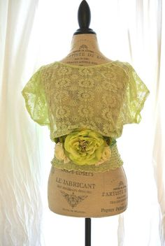 Upcycled womens shirt lace top country style by TrueRebelClothing, $46.00  very cute!