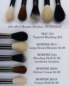 I stopped buying mac brushes last year because they cost wayyyyyy to much . These other brushes work just as good as macs