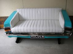 Repurposed Car Parts - Car couch