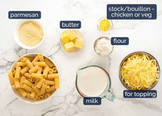 Here's creamy sauce to make a golden, bubbling creamy pasta bake using anything you have! Raw or cooked meat, canned tuna, any fresh, frozen or canned veg. Creamy Pasta Bake, Creamy Sauce, How To Cook Pasta, How To Cook Chicken, Vegetable Pasta Bake, Pork Mince, Recipetin Eats, Recipe Tin, Frozen Spinach