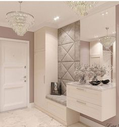 How to Begin Your Interior Design Career Room Design Bedroom, Home Room Design, Living Room Designs, House Design, Bedroom Designs, Bedroom Wall, Bedroom Ideas, Home Entrance Decor, House Entrance