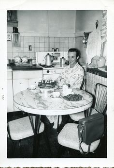 Birthday Morning 1950's