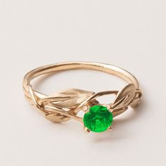 Items similar to Leaves Engagement Ring - Rose Gold and Diamond engagement ring, diamond ring, engagement ring, diamond ring on Etsy Wedding Jewelry, Wedding Rings, The Bling Ring, Do It Yourself Fashion, Leaf Engagement Ring, Art Nouveau, Beautiful Rings, Ring Designs, Just In Case