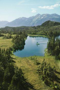 Copper River - Cordova, Alaska. Played with a fish wheel here!!!!!