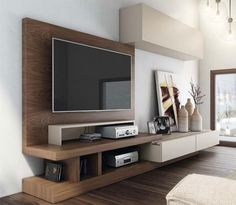 Tv cabinet tv wall unit designs with space saving and great regarding tv wall cabinets renovation interior: squirrel furniture Modern Tv Unit Designs, Wall Unit Designs, Modern Wall Units, Modern Design, Modern Tv Cabinet, Tv Cabinet Design, Tv Wall Design, Tv Storage Unit, Wall Storage