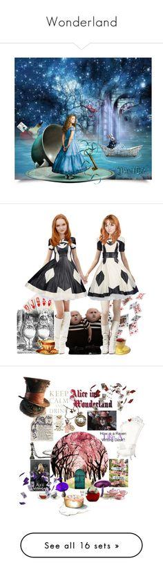 """Wonderland"" by winternightfrostbite ❤ liked on Polyvore featuring art, Pam…"