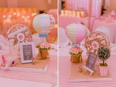 Audrey's Vintage Pastel Carnival Birthday Party