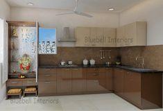 Living Room Partition Design, Room Partition Designs, Pooja Room Design, Tv In Bedroom, Pooja Rooms, Wardrobe Design, Room Doors, Sweet Home, Kitchen Cabinets