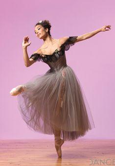 Maggie Small in Karinska costume for Balanchine's Liebesleder Waltzer.    Photo by Matthew Karas.