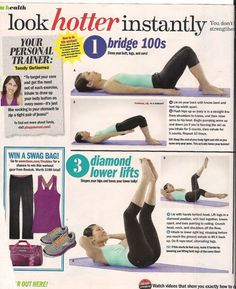 Look Hotter Instantly Workout pt. 1 - Seventeen Magazine