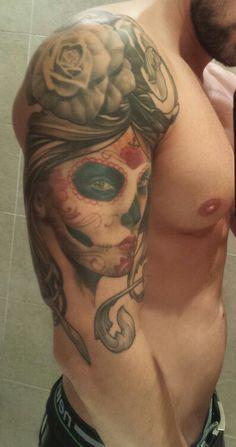 Catrina-ltw tattoo-jon pall