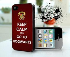 iPhone Case: Keep Calm Go To Hogwarts