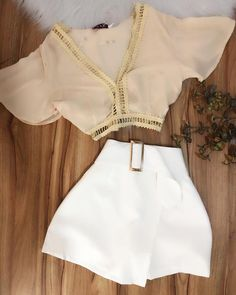 Casual Shorts Outfit, Dressy Outfits, Short Outfits, Stylish Outfits, Cool Outfits, Short Dresses, Fashion Outfits, Latest African Fashion Dresses, Professional Outfits