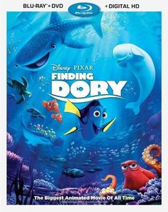 Finding Dory [Includes Digital Copy] [Blu-ray/DVD] [2016] - Front_Standard