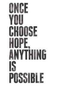 ICSI. once you choose hope