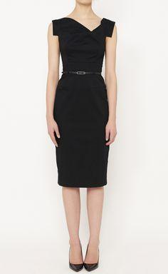 Black Halo Black Dress   VAUNTE