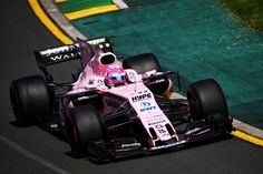 2017 GP Australii (Albert Park) Force India VJM10 - Mercedes (Esteban Ocon)