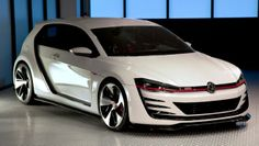 Photographs of the 2013 Volkswagen Design Vision GTI. An image gallery of the 2013 Volkswagen Design Vision GTI. Vw Golf Vr6, Jetta Mk5, Vw Scirocco, Volkswagen Polo, Vw Cars, Car Pictures, Sport Cars, Concept Cars, Design