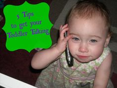 Momma Without a Clue: 5 Tips to Get Your Toddler Talking