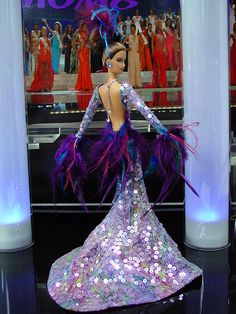 OOAK Barbie NiniMomo's Miss Northern Marianas Islands NPC 2010