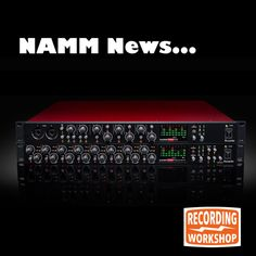 Love Music Gear?? The upcoming NAMM show gets the juices flowing at Recording Workshop. Focusrite has a tasty update to their OctoPre 8-Channel micpreamps. The same tweaks that the 2nd generation Scarlett interfaces received a few months ago have made it to the expanded product line. With or without 8 channels of analogue compression, take your pick and put that ADAT port to good use!