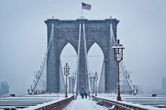 """Brooklyn Bridge."" Taken by Wayne Bennett (Bronx, New York). Photographed February 2011, New York City, New York. (9th Annual Smithsonian Magazine Photo Contest Finalist; Category: Americana.) Visit our site to vote for your favorite!"