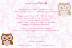 Convite Menina