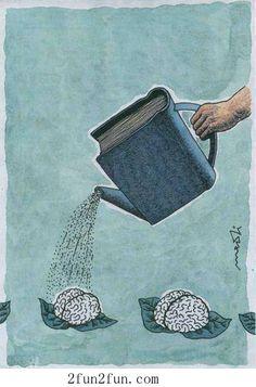 Please read books