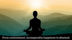 Samtosad anuttamah sukhalabha From contentment, incomparable happiness is obtained. —Yoga Sutra II.42  #yoga #sutra #yogasutra #yogasutras #inspiration #mantramonday #mantra #philosophy