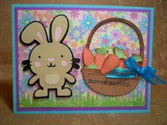 Little Scrap Pieces: Create a Critter Cricut Easter Card