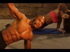 """15 min """"ABDOMINAL ASSAULT 2"""" How to get a six 6 pack and burn fat FAST workout (Big Brandon Carter) - YouTube"""