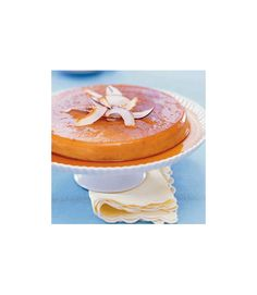Flan is a favorite in Latin American countries, and it's easy to see why, what with its creamy texture and not-too-sweet flavor. For this recipe, traditional caramel is revved up with coconut milk and sweetened flaked coconut. Get the recipe.  - WomansDay.com