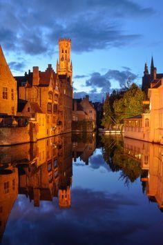 Blue Hour in Bruges
