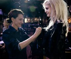 On Set with Cynthia Rowley for Her Fall 2014 Lookbook & Film Shoot - Making the Finishing Touches from #InStyle