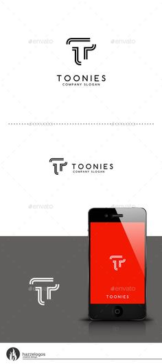 Toonies  Leter T Logo — Vector EPS #company #application • Available here → https://graphicriver.net/item/toonies-leter-t-logo/9459802?ref=pxcr