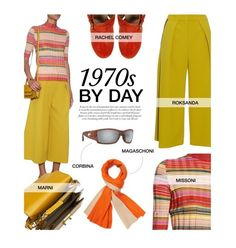 """""""1970s By Day"""" by tracey-mason ❤ liked on Polyvore featuring Missoni, Rachel Comey, Marni, Roksanda, Costa and Magaschoni"""