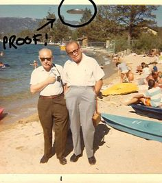 The last known picture of Wallace and Robert.