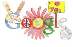Doodle For Google Winners, Google Doodle Contest, Best Google Doodles, Doodle 4 Google, Doodle Drawings, Doodle Art, Art Google, Google Ideas, Hippie Chick