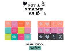 Bij HEMA vind je nu alles om je schoolspullen helemaal aan te passen aan je eigen smaak: washi tapes, stempels, stansen, stickers en nog veel meer..
