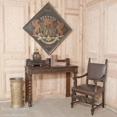 Antique Furniture | Antique Buffets-Sideboards | Renaissance/Gothic Buffets | English Renaissance Sideboard | www.inessa.com