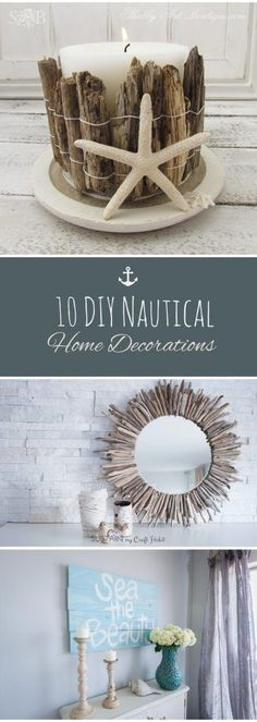 546 Best Diy Nautical Decor Images In 2019 Decor Coastal