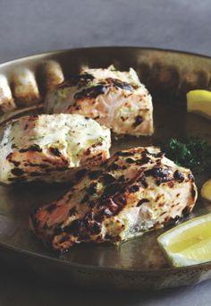 Tandoori-style Salmon recipe from London's Cinnamon Kitchen