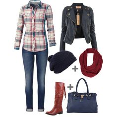 How to WEAR: Red Knee High Boots 7