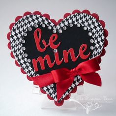 Be Mine by thestampinbean - Cards and Paper Crafts at Splitcoaststampers