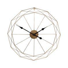 Fém falióra, geometrikus 60cm - ORIGAMI