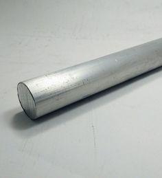 """Vergalhão Redondo Alumínio 1"""" polegada (2,54cm) - Alumínio Alure"""