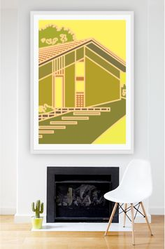 Architectural Print by Zoe Murphy from $110 visit mcollection.com.au in Affordable Art