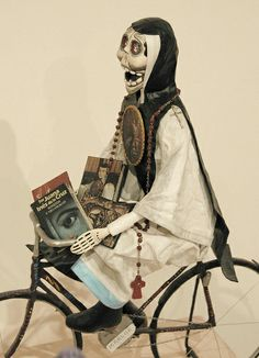 Sor Juana on Bike Mexico, via Flickr.